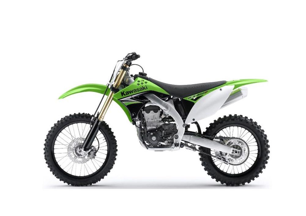 Kawasaki KX 450 F - 2018 Test Ride - YouTube