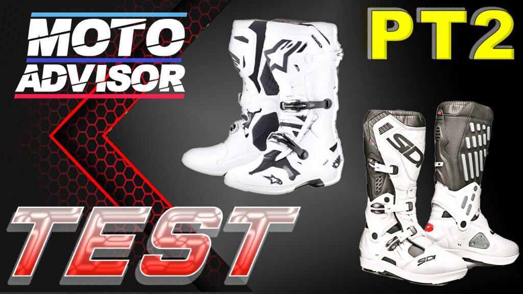 Tech 10 e Sidi atojo TEST