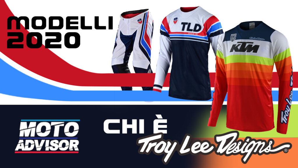 troy lee designs UNBOXING MODELLI 2020