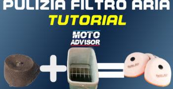 Pulizia filtro aria : TUTORIAL .