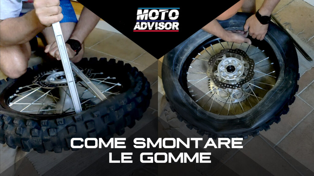 TUTORIAL: Come smontare le gomme