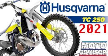 NUOVA Husqvarna TC 250 2021
