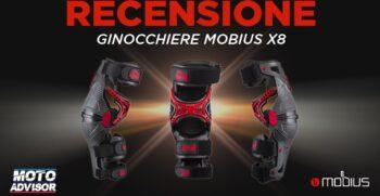 Ginocchiere Mobius X8 - Recensione