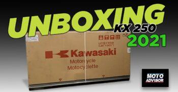unboxing Kawasaki KX 250 2021